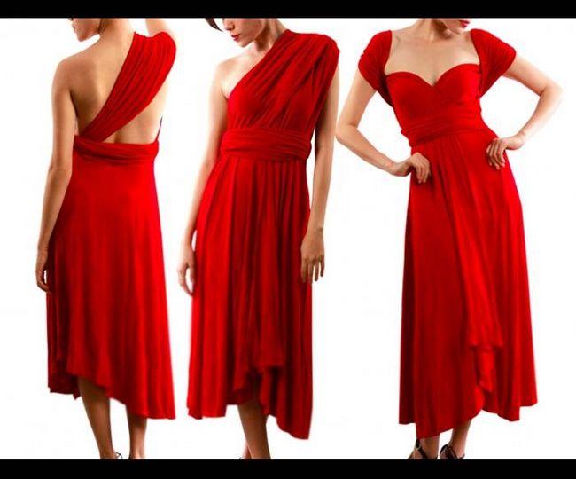 Платье-трансформер - выкройка универсальной одежды