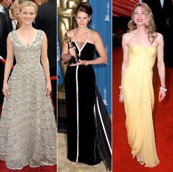 звезды в винтажных платьях