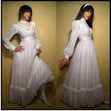 свадебное винтажное платье
