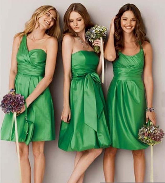платья для пожружек невесты