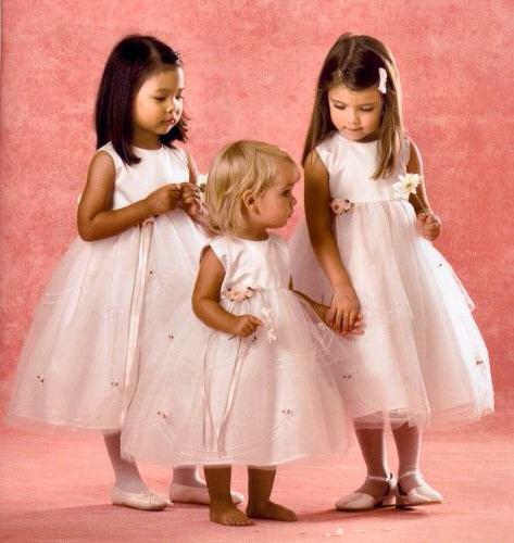 платья для детей на свадьбу