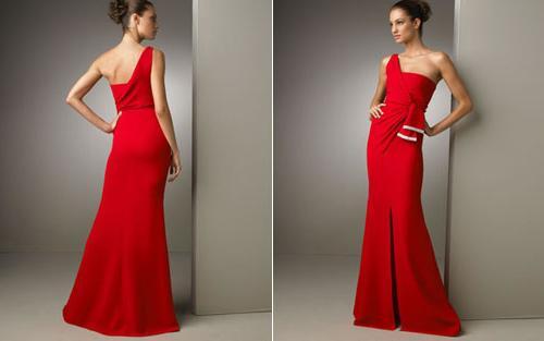 Платья на одно плечо – классика, прошедшая сквозь века