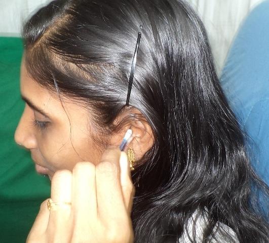 чешется внутри уха