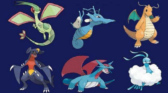 покемоны драконы