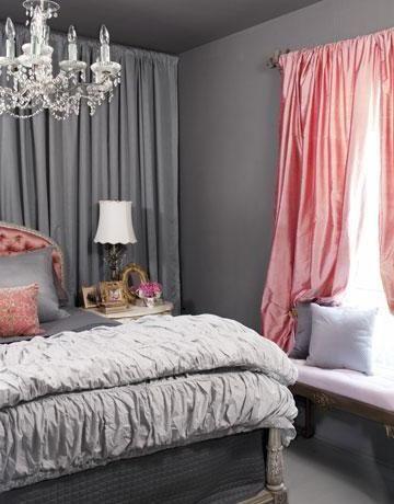 Покрывала и шторы для спальни.