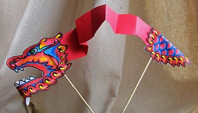 Полезная информация: как сделать дракона из бумаги