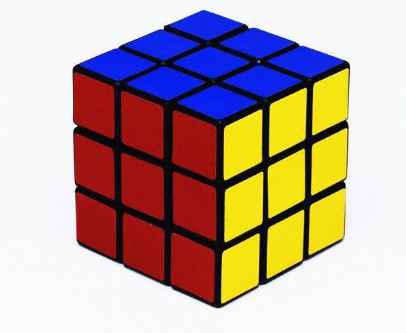 как собрать кубик рубик 3х3