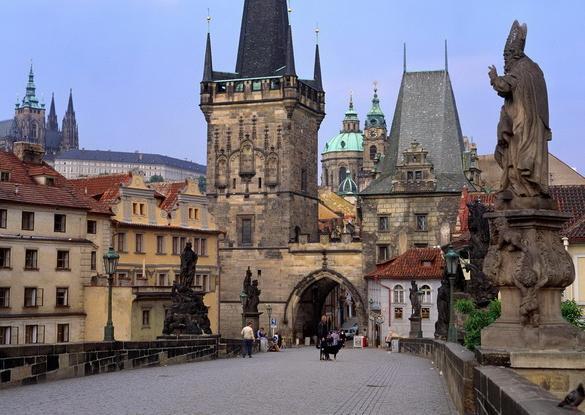 Популярные достопримечательности чехии