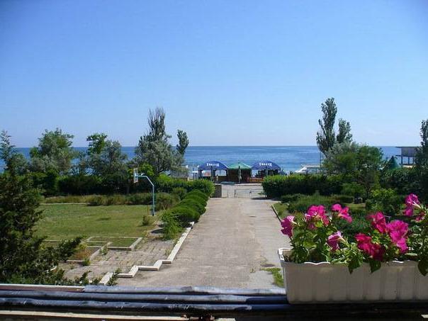 лучшие гостиницы крыма на берегу моря