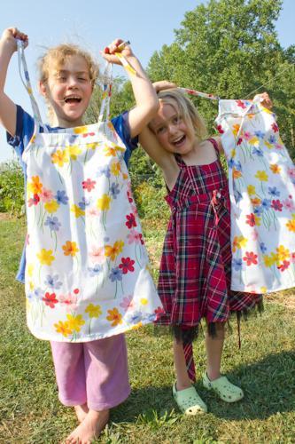 платья для девочек своими руками