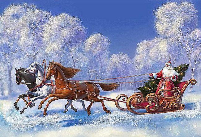 празднование нового года 1 января