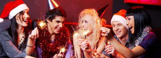празднование новый год в россии