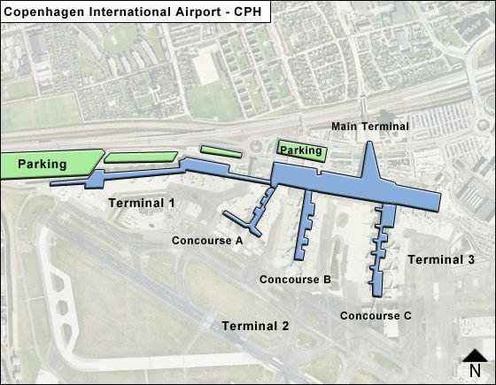 Копенгаген аэропорт схема