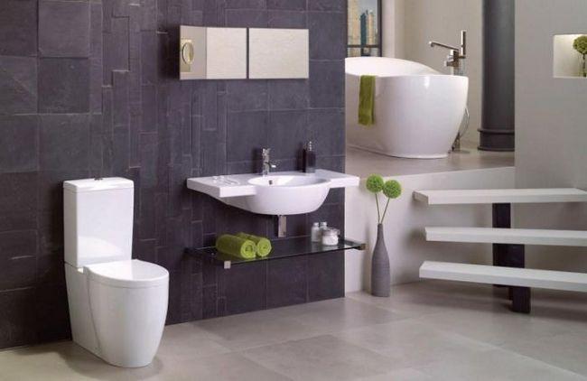 Применяем идеи для ванной комнаты