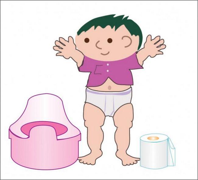 Приучение детей к горшку: особенности процесса