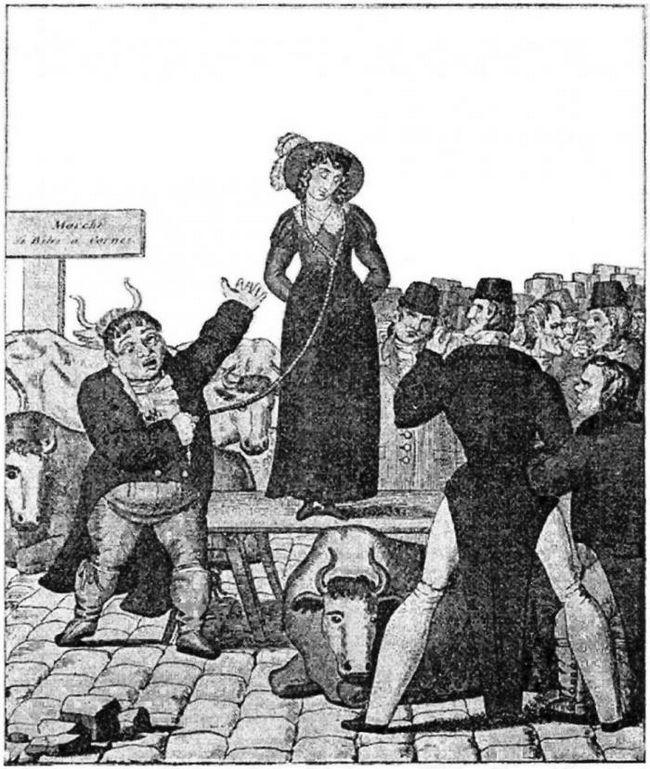 Продажа наскучивших жен в англии в xviii-xix вв: как это было