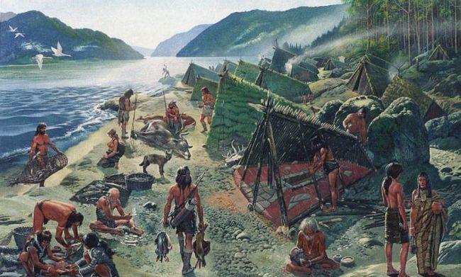 кроманьонцы древний человек ископаемый человек