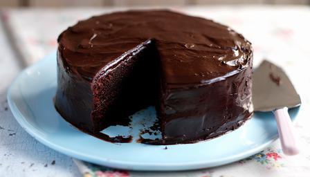 Простой рецепт шоколадного торта за полчаса