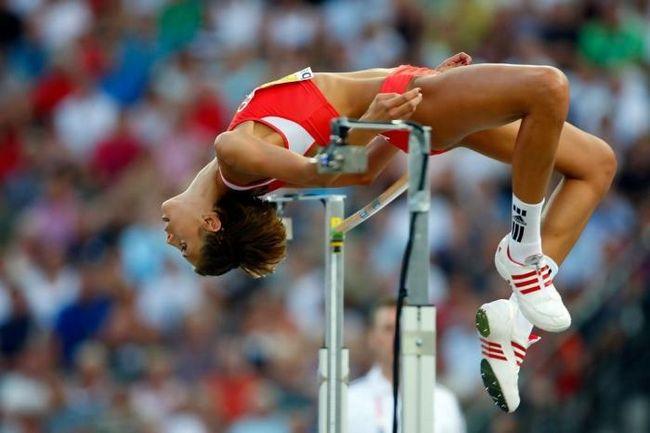 прыжки в высоту техника