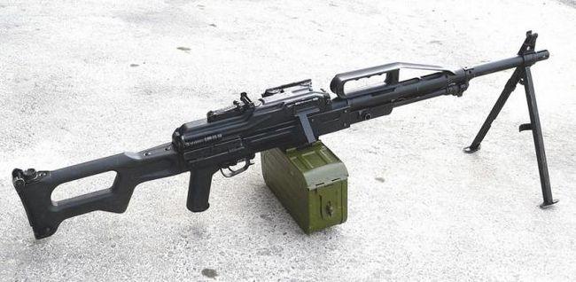 Пулемет «печенег» - лучший в россии