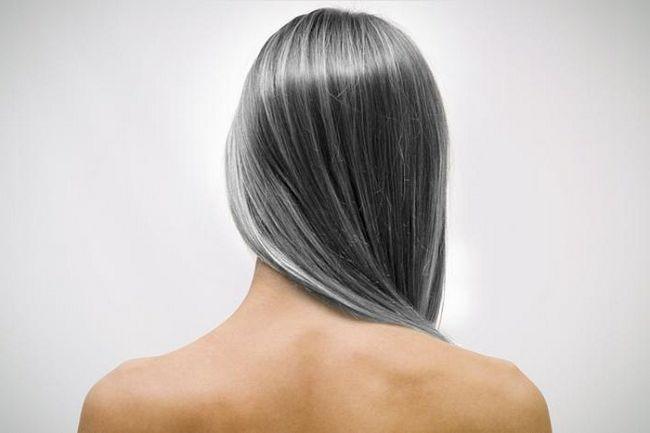 Ранняя седина волос причина