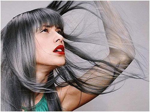 Причины седины волос у женщин