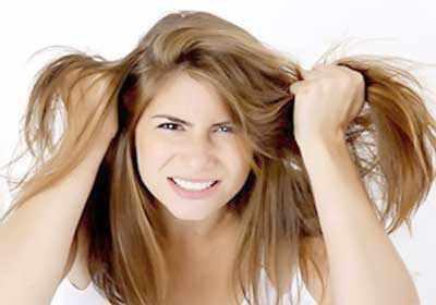 Причина седины волос в раннем возрасте