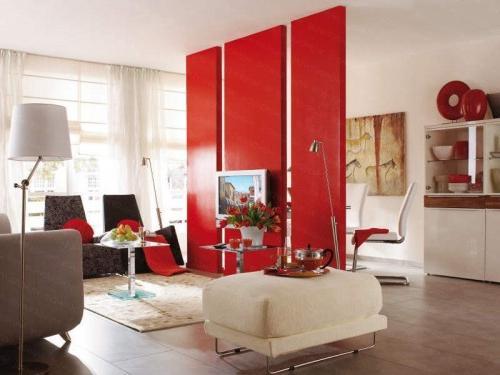 Разделение комнаты на две зоны: модно, стильно и несложно