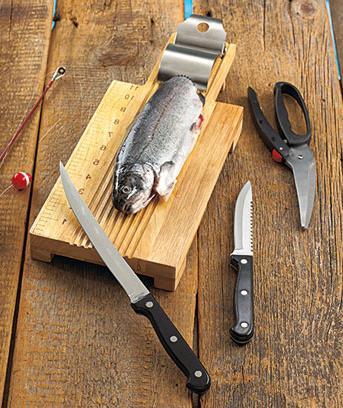Разделочная доска для рыбы