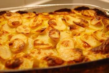 Рецепт картошки по-французски. Идеальный ужин или праздничный стол