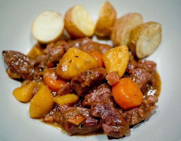 рецепт мясо с картошкой в мультиварке
