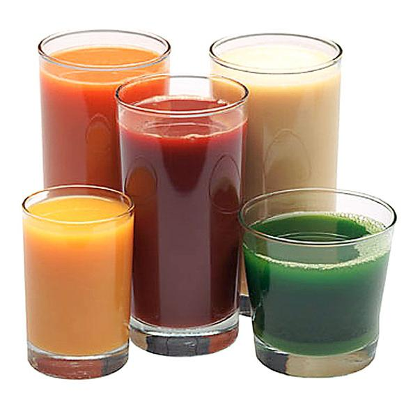Рецепты свежевыжатых соков для здорового питания