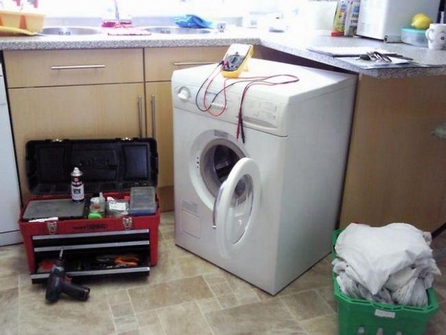 Ремонт стиральных машин aeg. Различные варианты