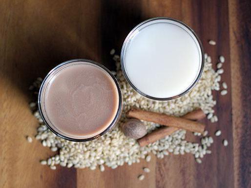 рисовое молоко рецепт