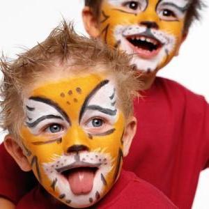 Рисунки на лице для детей, или аквагрим