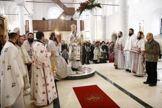 рождественская литургия текст
