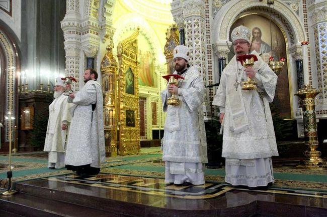 рождественская литургия 2015