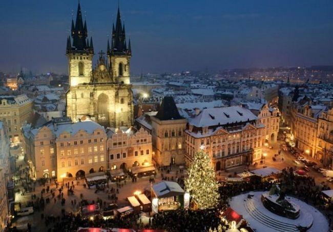 Рождество в праге, или волшебство рядом