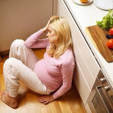 Розовые выделения при беременности