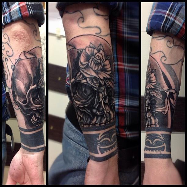 Рукава-татуировки - выбор стильных