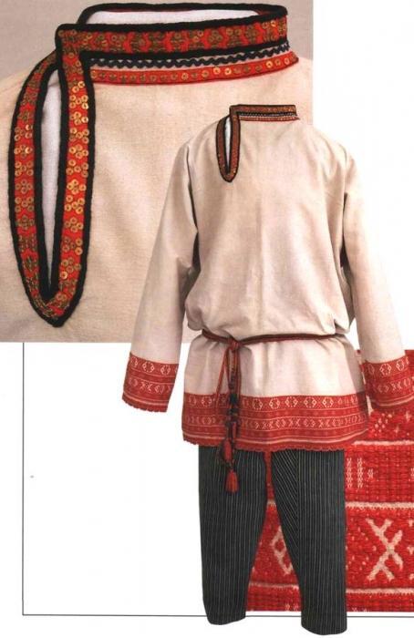 Русский народный костюм и его особенности
