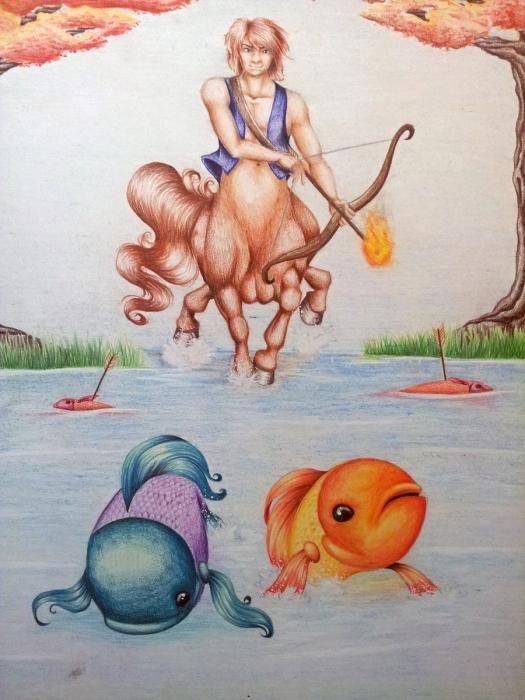 совместимость знаков зодиака Рыбы Стрелец