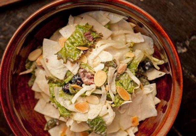 салат из кольраби рецепт