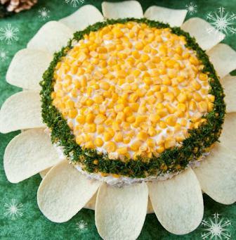 салат солнышко