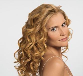 Закрученные волосы фото