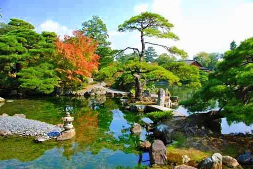 сады императорской виллы катсура япония