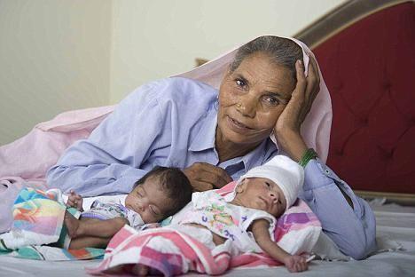 самые молодые и самые пожилые мамы в мире