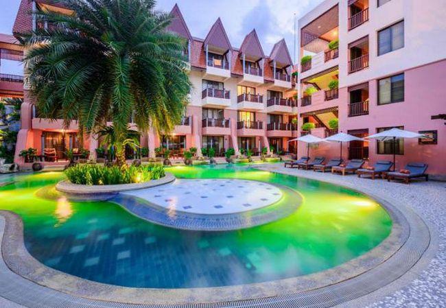 sea view patong hotel 4 фото