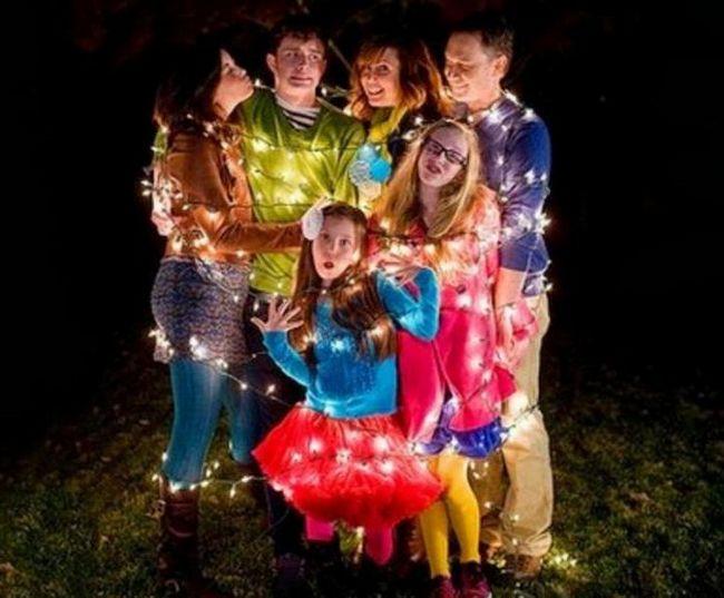 осенняя семейная фотосессия фото идеи