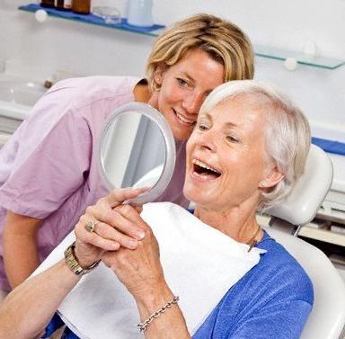 уход за зубными протезами съемными